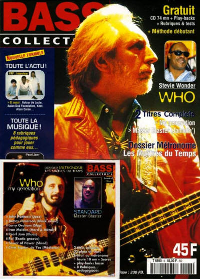 John Entwistle - Belgium - Bass Collector - May, 2000