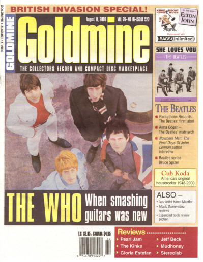 The Who - USA - Goldmine - August 11, 2000