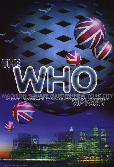 The Who - MSG VIP Party - 2000 USA (Promo)