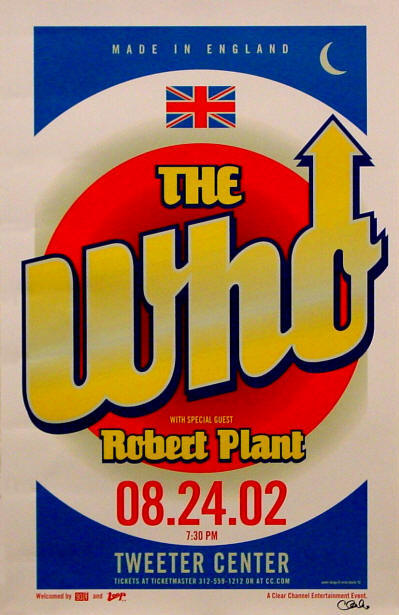 The Who - The Tweeter Center - 2002 USA (Promo)
