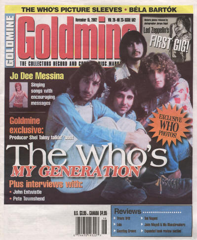 The Who - USA - Goldmine - November 15, 2002