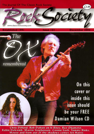 John Entwistle - UK - Classic Rock Society - December, 2002