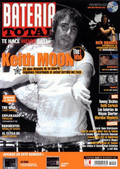 Keith Moon - Spain - Bateria - 2002
