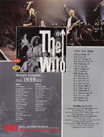 The Who - The Ultimate Collection - 2002 USA