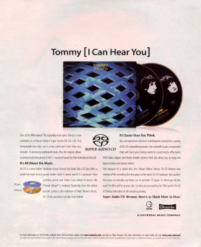 The Who - Tommy Deluxe Edition - 2003 USA