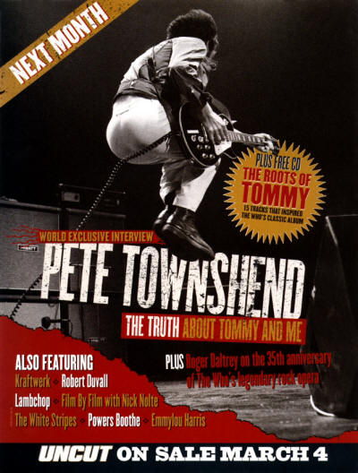 Pete Townshend - Uncut - 2003 UK