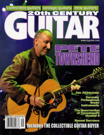 Pete Townshend - USA - 20th Century Guitar - September, 2004