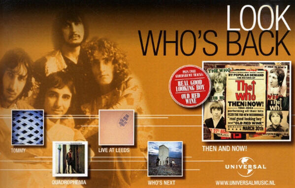 The Who - Then & Now - 2004 Holland