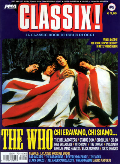 The Who - Italy - Classix! - April, 2006
