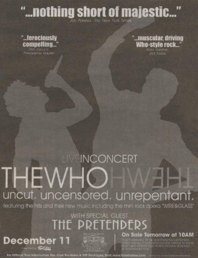 The Who - Columbus, Ohio - December 11, 2006 USA