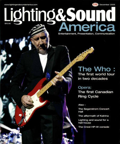 Pete Townshend - USA - Lighting & Sound - June 12, 2006