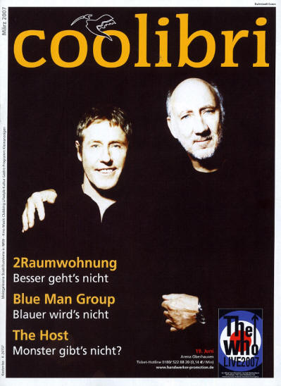 The Who - Germany - Coolibri - March, 2007