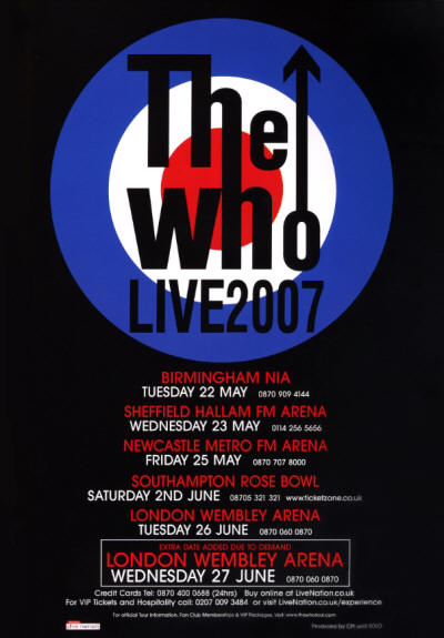 The Who - 2007 UK