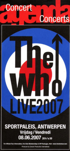 The Who - Antwerp - 06/08/07 Belgium