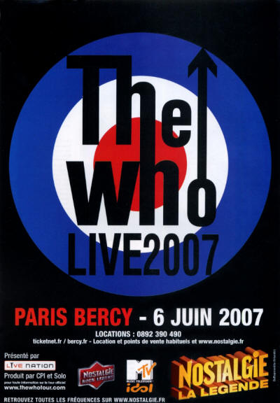The Who - Paris - June 6, 2007 France