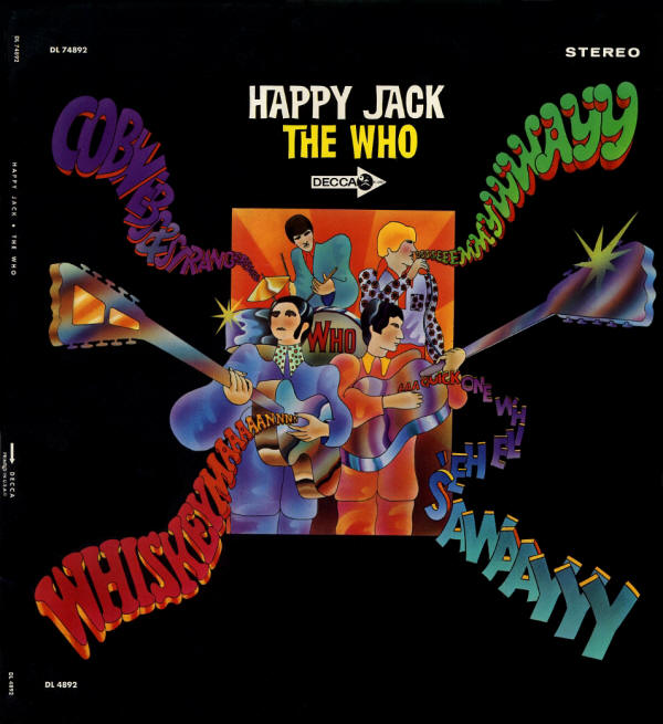 The Who - Happy Jack - 1967 USA (Fold Out)