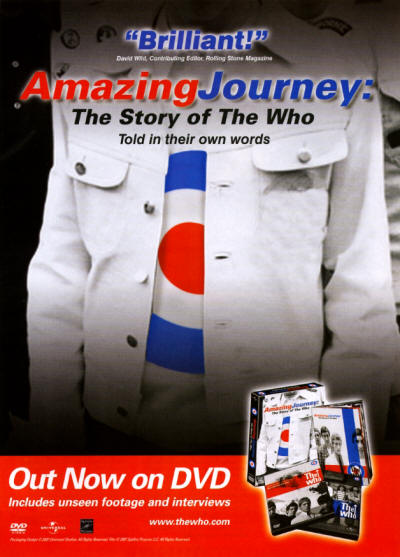 The Who - Amazing Journey - 2008 UK