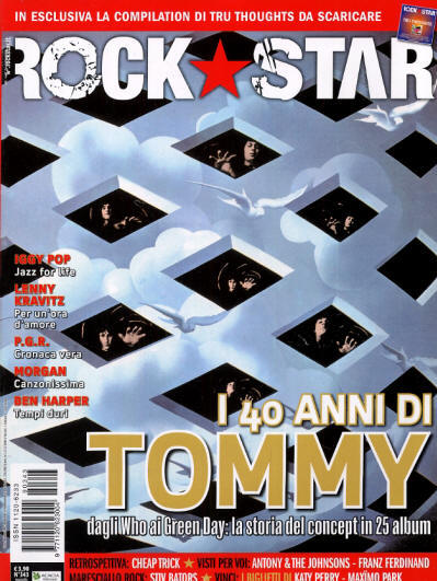 The Who - Italy - Rock Star - May, 2009