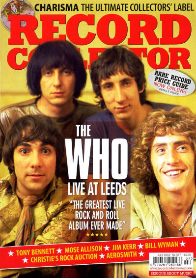 The Who - UK - Record Collector - July, 2010