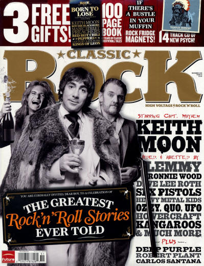 The Who - UK - Classic Rock - November, 2010 (Outer Cover)