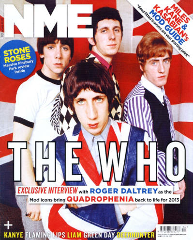 The Who - UK - NME - June 15, 2013