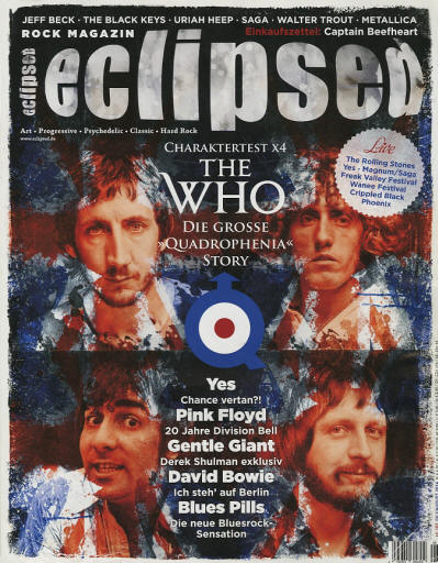 The Who - Germany - Eclipsed - July/August, 2014