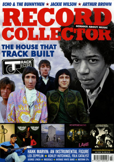 The Who - UK - Record Collector - July, 2014