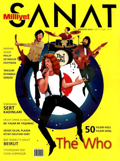 The Who - Turkey - Sanat - August, 2014