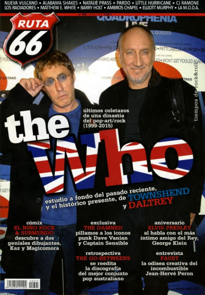 The Who - Spain - Ruta66 - April, 2015