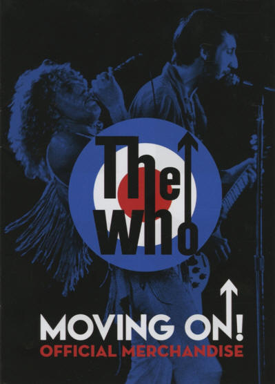 The Who- USA- 2019 Moving On Official Merchandise Catalog