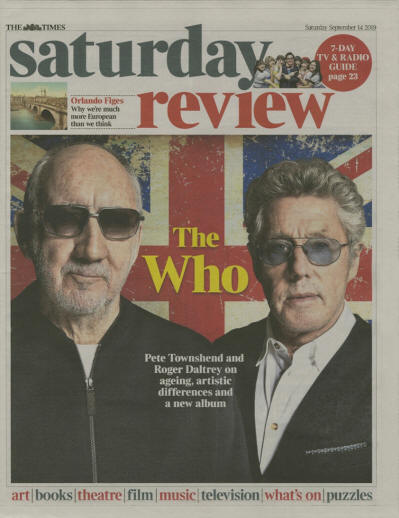 The Who - UK - Saturday Review - September 30, 2019