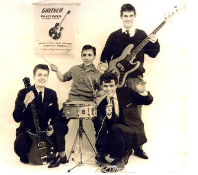 Keith Moon and the Beachcombers - Gretsch Guitars - 1963 UK (reproduction)