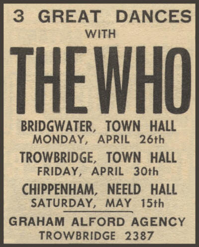 The Who - 3 Great Dances - April 16, 1965 UK