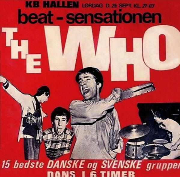The Who - KB Hallen - September, 25 1965 Denmark (Reproduction)