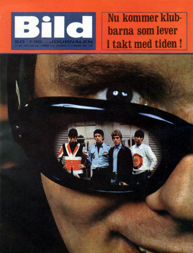 The Who - Sweden - Bild - December 15, 1965 (Back Cover)