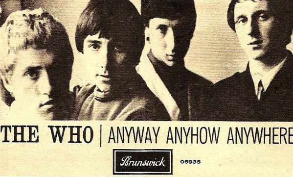 The Who - Anyway, Anyhow, Anywhere - 1965 UK (Reproduction)