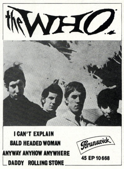 The Who - I Can't Explain (EP) - 1965 France