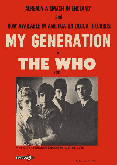 The Who - My Generation - 1965 USA