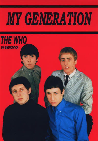 The Who - My Generation - 1965 UK (reproduction)