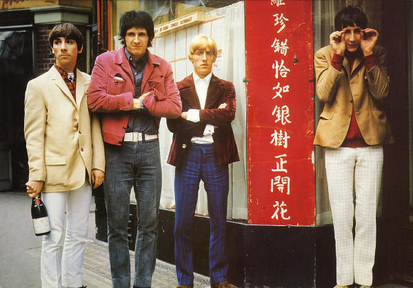 The Who - Circa 1965 (from the 1989 USA Poster Book)