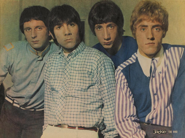 The Who - 1967 UK (1965 Photo)