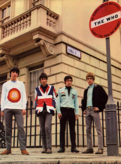 The Who - Germany - Musik Parade - February 12, 1966 (Back Cover)