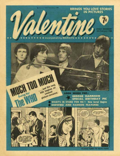 The Who - UK - Valentine - February 26, 1966