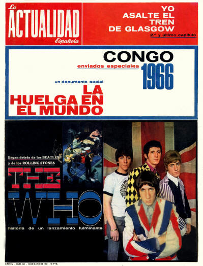 The Who - Spain - Actualidad - May 19, 1966