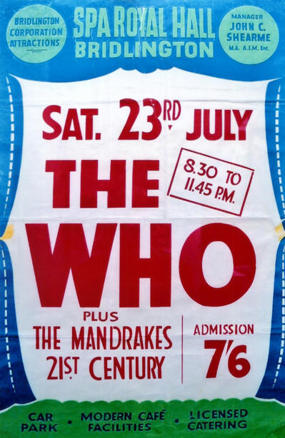 The Who - Spa Royal Hall - July 23, 1966 UK (Reproduction)