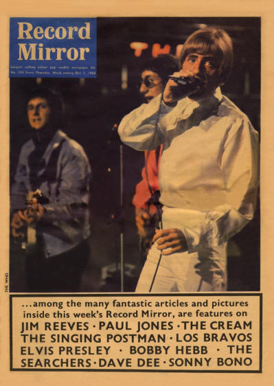 The Who - UK - Record Mirror - October 1, 1966