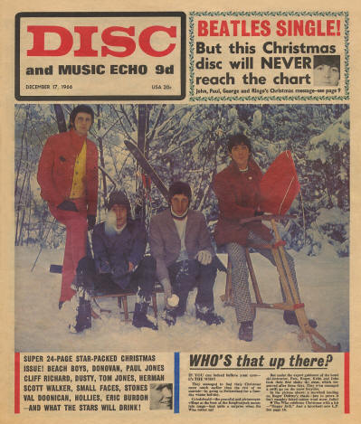 The Who - UK - Disc & Music Echo - December 17, 1966