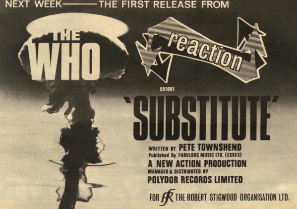 The Who - Substitute - 1966 UK