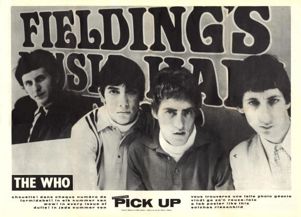 The Who - 1966 Belgium