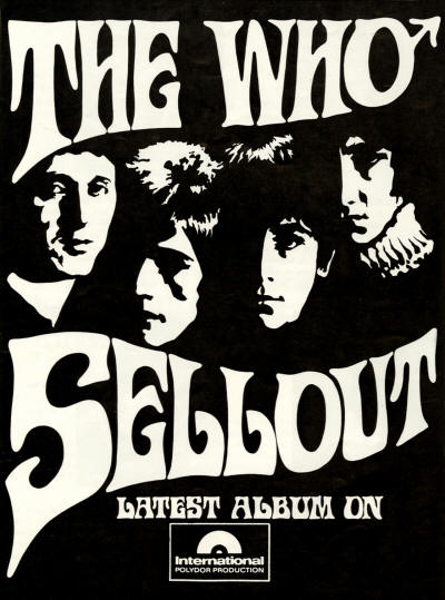 The Who - The Who Sell Out - 1968 Australia